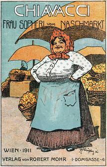 Umschlag zu Frau Sopherl vom Naschmarkt