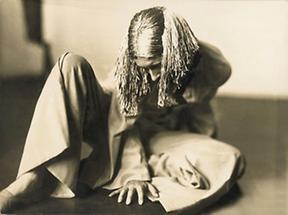 Rosa Chladek photographiert von Grete Kolliner
