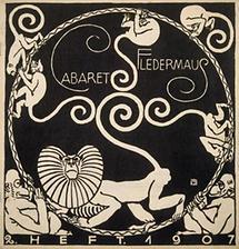 Programmheft des Cabaret Fledermaus