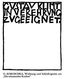 Widmung für Gustav Klimt