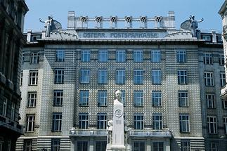 Gebäude der k. k. Österreichischen Postsparkasse in Wien