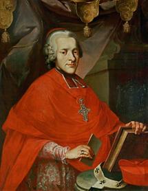Erzbischof Hieronymus Graf Colloredo