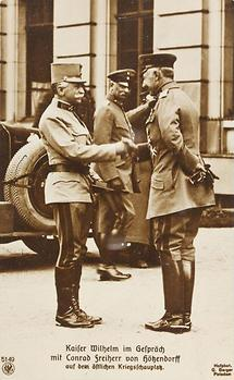 Kaiser Wilhelm II. im Gespräch mit Conrad Freiherr von Hötzendorff (2)