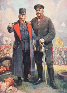 Franz Conrad von Hötzendorf und Paul von Hindenburg