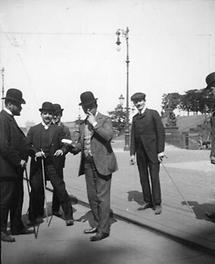 Gustav Klimt und Karl Otto Czeschka (2)