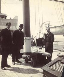Gustav Klimt und Karl Otto Czeschka (1)