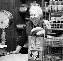 Besitzerin des Feinkostladens Gustav Weber