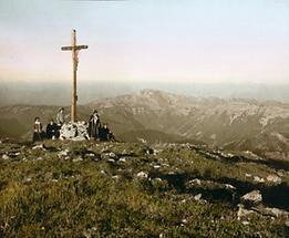 Blick vom Gipfel des Ötschers auf den Dürrenstein
