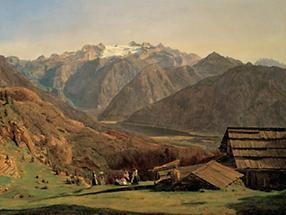 Ansicht des Dachsteins (1)