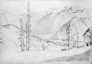 Ansicht des Dachsteins (2)