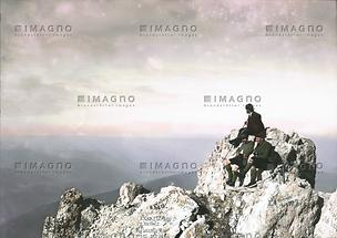 Dachstein: Rast am Gipfel