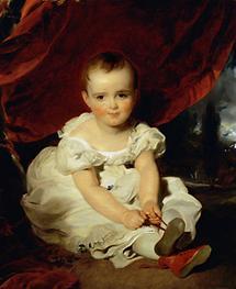 Erzherzogin Maria Theresia als Kind