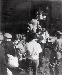 Deportation von polnischen Juden (4)