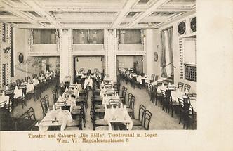 Theatersaal des Cabarets