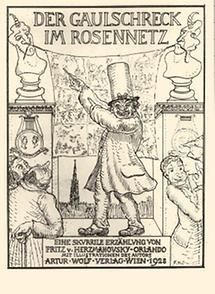 Umschlag: Der Gaulschreck im Rosennetz