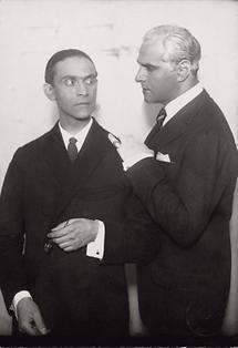 Ernst Deutsch und Fritz Delius