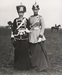Kronprinzessin Cäcilie von Preussen und Prinzessin Viktoria-Luise