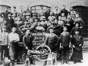 Anfangszeit des Motorwagenbaus