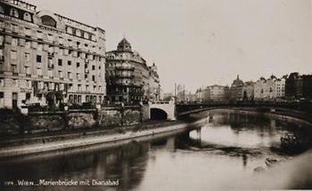 Blick auf die Marienbrücke