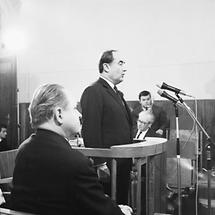 Hans Dichand bei seiner Aussage