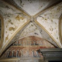 Fresken im Kreugang von Pettau