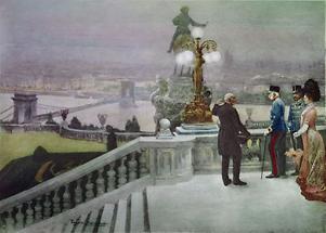 Kaiser Franz Joseph I in Budapest