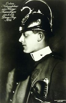 Oskar Kokoschka als Kriegsfreiwilliger