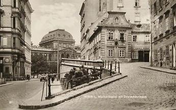 Dreimäderlhaus und Wiener Universität