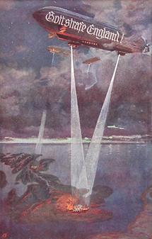Erster Weltkrieg. Bildpostkarte. Propaganda.