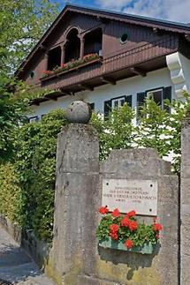 Gedenktafel für Marie von Ebner-Eschenbach