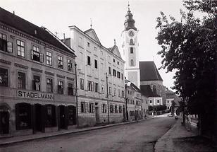 Stadtansicht von Eferding