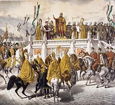 Krönung Kaiser Franz Joseph