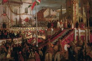 Krönung von Kaiser Franz Joseph I.