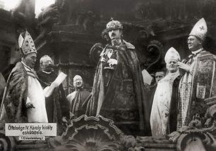 Krönung von Kaiser Karl I