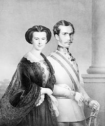 Das Kaiserpaar Franz Joseph und Elisabeth