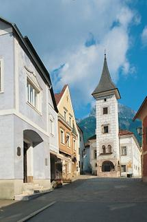 Das Rathaus von Eisenerz