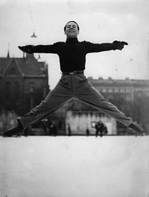 Eiskunstläufer Felix Kaspar