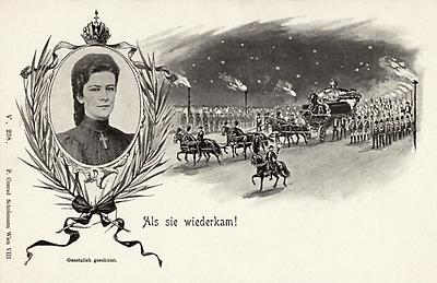 Gedenkpostkarte, © IMAGNO/Austrian Archives