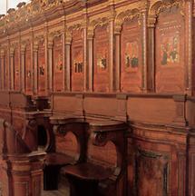 Chorgestühl in der Klosterkirche