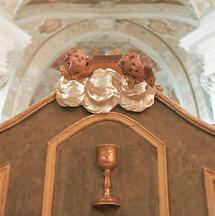 Detail aus dem Refektorium im Trappistenkloster