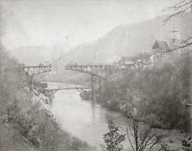 Brückenbau in Weyer an der Enns