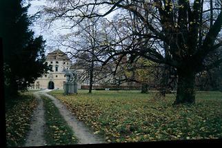 Herbststimmung im Park Ernstbrunn