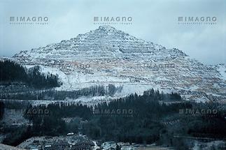 Blick auf den Erzberg