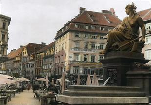 Der Hauptplatz in Graz