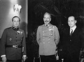 Starhemberg, Erzherzog Eugen und Erzehrzog Anton