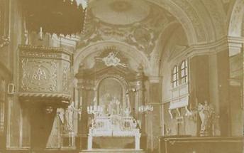 Alte Pfarrkirche Fünfhaus zur Allerheiligsten Dreifaltigkeit