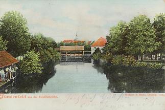 Blick über die Feistritzbrücke