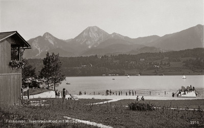 Inselstrand am Faakersee, © IMAGNO/Austrian Archives
