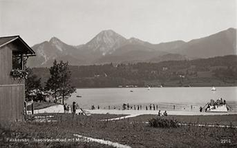 Inselstrand am Faakersee