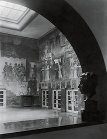 Vestibül des Salzburger Festspielhauses